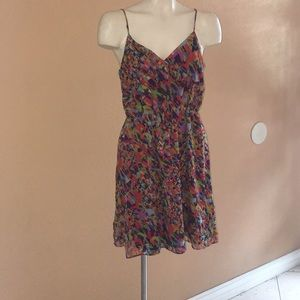Broadway and Broome color collage ballad dress